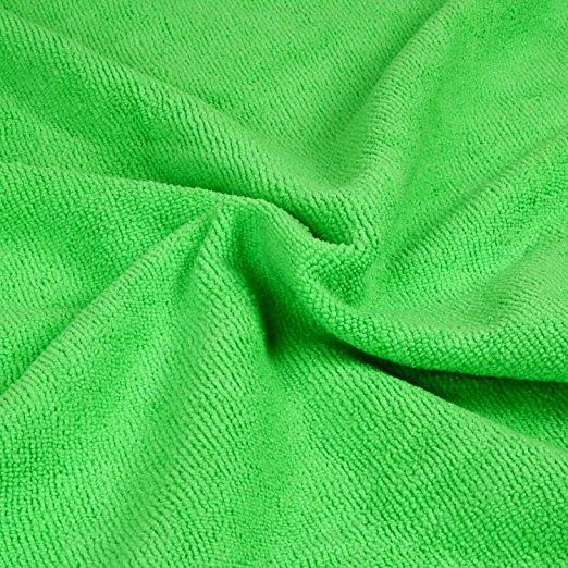 Podlahová mikrofázová utěrka čistící zelená Lemmen R9670