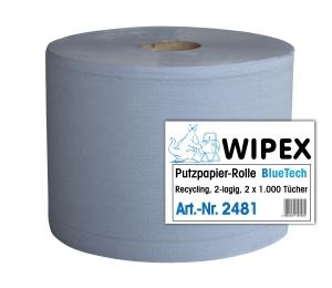 Papierové utierky v roli NORDVLIES 2481, 2-vrstvové, 22x38 cm