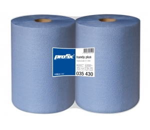 Papierové utierky v roli Temca T035430, 2-vrstvové, 38x36 cm