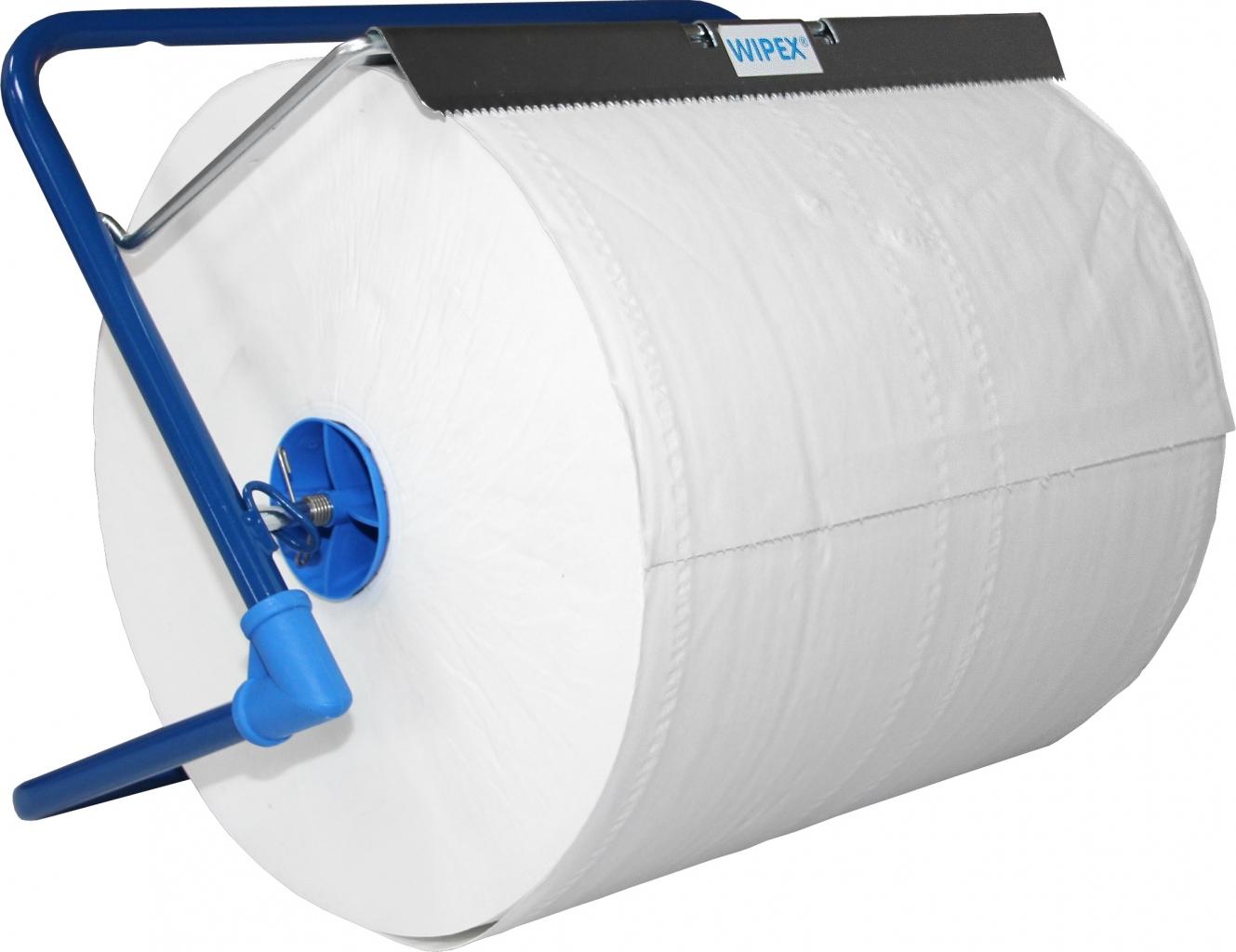 Stěnový držák (stojan) papíru Nordvlies modrý 91560N, šíře 40 cm, fotografie 1/1