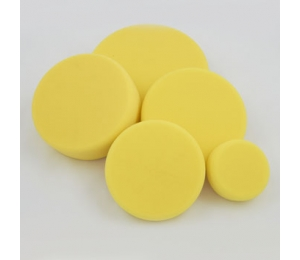 Leštiaci kotúč žltý stredne tvrdý Koch 80x30 mm 999276