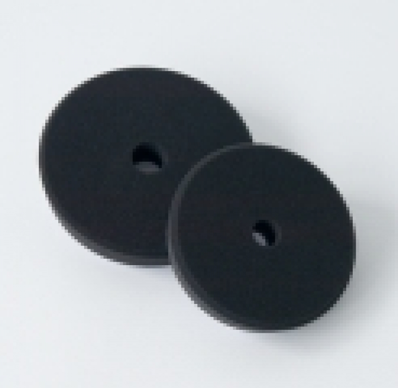 Leštiaci kotúč čierny pre finálnu leštenie V-Form Koch 163x30 mm 999292V