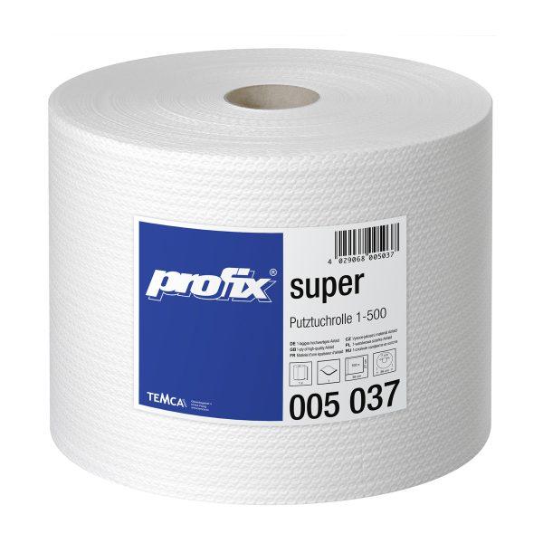 Papírové utěrky v roli Temca Profix Super T005037, 1-vrstvé, 27x38 cm