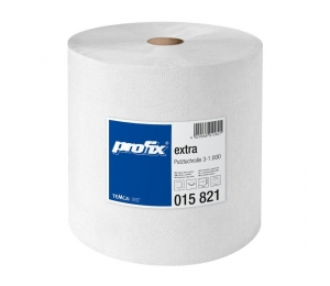 Papírové utěrky v roli - T015821, 3-vrstvé, 36,5 x 35 cm