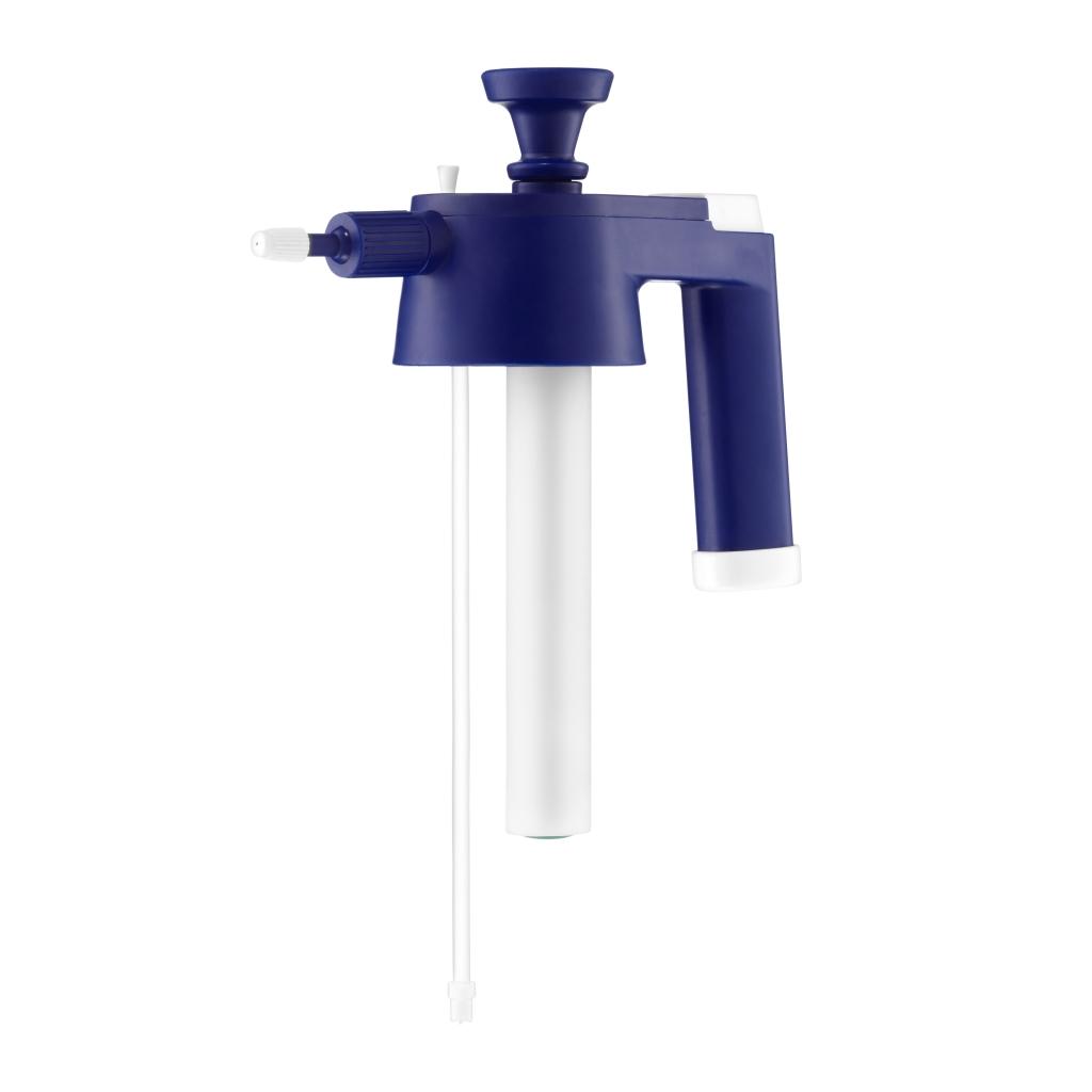 Tlakový postřikovač Kwazar VENUS - horní část modrá pro alkalické výrobky 200-5230-40-0030