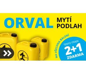 Přípravek na čištění a mytí podlah Amstutz Orval 25 kg 2x + 1x ZDARMA