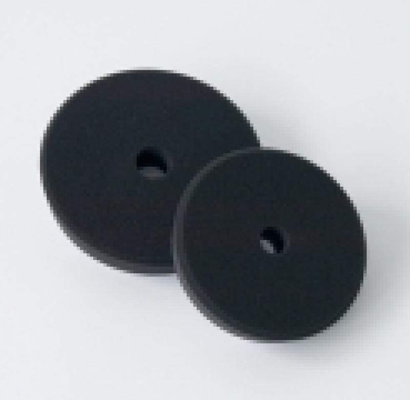 Leštiaci kotúč čierny pre finálnu leštenie V-Form Koch 145x30 mm 999268V