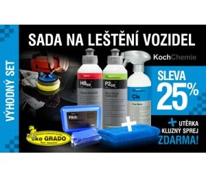 Sada na leštenie vozidiel Koch 3 + 3 produkty Bezplatne