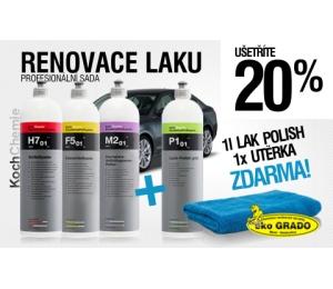 Sada na renováciu laku Koch 3 + 2 výrobky Bezplatne