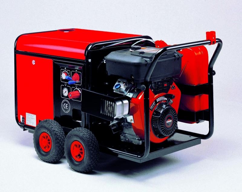 Vysokotlakový horúcovodný čistiaci stroj Ehrle HDB 1240 č.138001