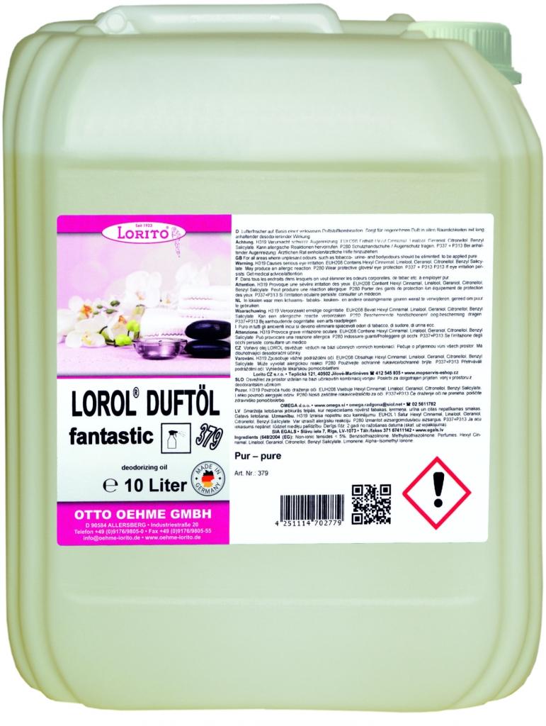 Osvěžovač vzduchu Oehme Lorol Fantastic 379 10 l