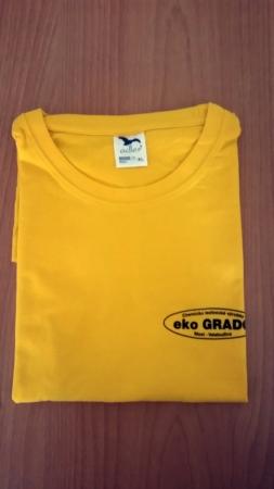 Firemní tričko žluté