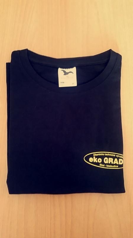 Firemné tričko čierne