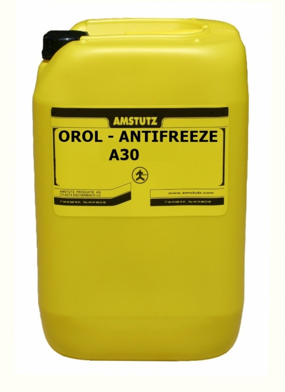 Nemrznúca zmes do chladičov Amstutz Orol Antifreeze A30 30 kg