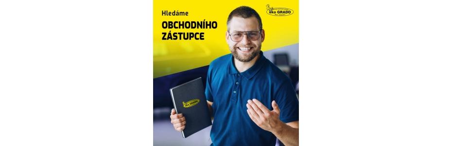 Hledáme obchodního zástupce pro Ústecký kraj a Brno: - čisticí prostředky - ekoGRADO
