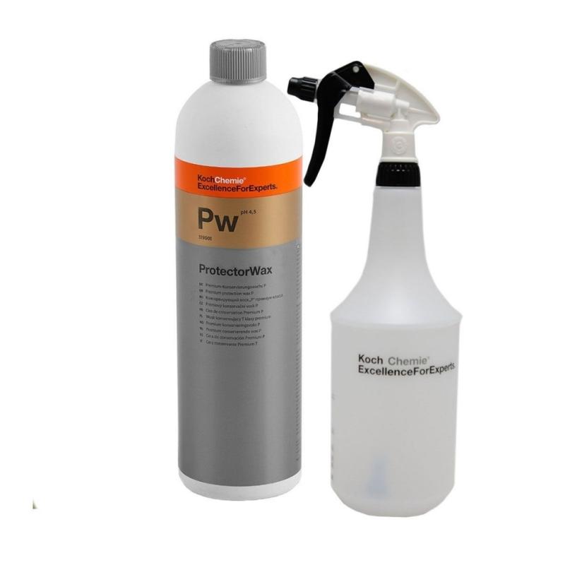SET Vosk s nano konzerváciou Koch Protector Wax 1 l vrátane odmerky