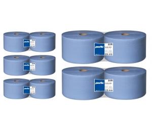 Papierové utierky v roli Temca T035416 - AKCIA - Kúpa 10 rolí, 2-vrstvové, 22x36 cm