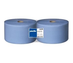 Papierové utierky v roli Temca T035416, 2-vrstvové, 22x36 cm