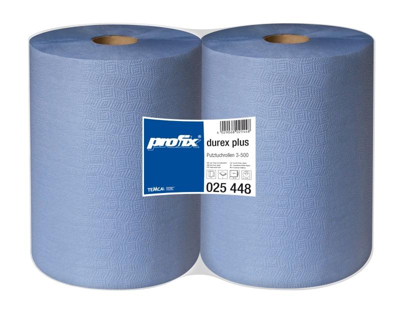 Papierové utierky Temca Profi Durex Plus T025448, 3-vrstvové, 36x38 cm