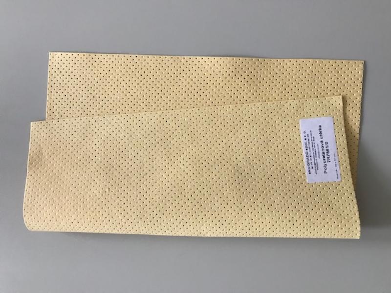Polyuretánová perforovaná utierka s bavlnenými vláknami 39x37 cm
