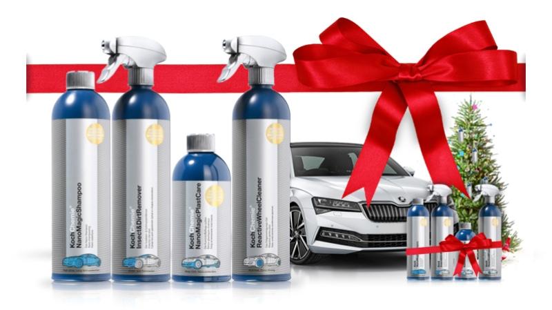 Výhodný balíček autokozmetiky Koch 3 + 1 výrobok Bezplatne