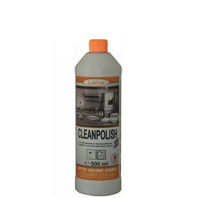 Čistič a ošetrovač nerezu Oehme Cleanpolish 0,5 l