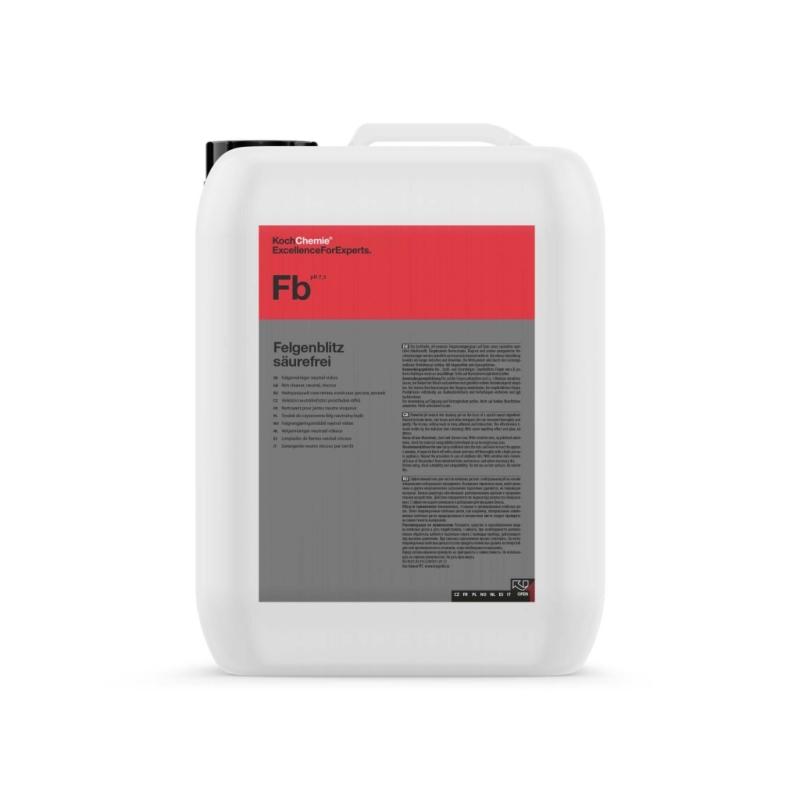 Čistič diskov bez kyseliny Koch Felgenblitz Sauer Frei 33 kg