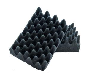 Na ošetrenie vnútorných a vonkajších plastov Koch Špongia čierna tvarovaná