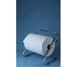 Stěnový držák papíru chromový - 0967, šíře 40 cm