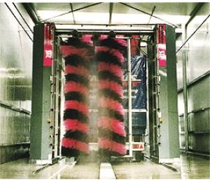 Umývacia linka na nákladné vozidlá Steinbruckner